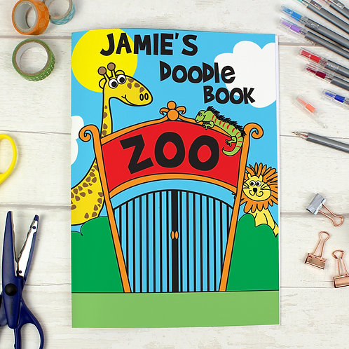 Personalised Zoo - A4 Scrapbook (PMC)