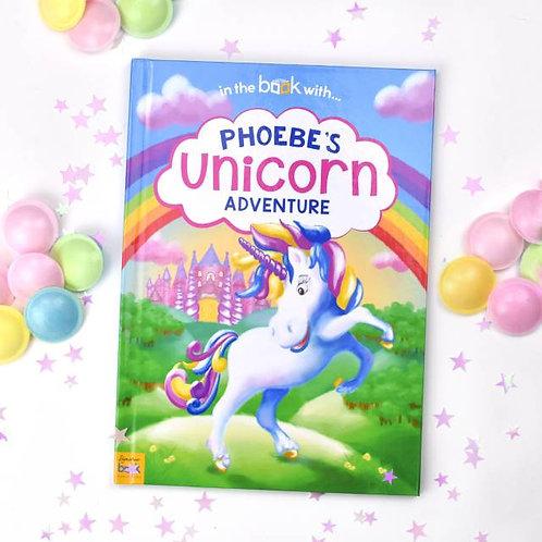 Personalised Unicorn Story Book