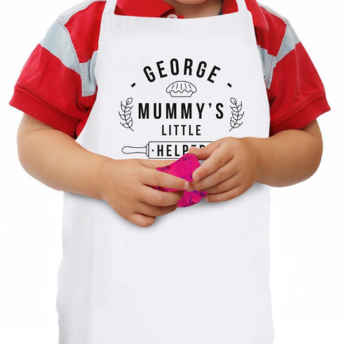 Mummy?s Little Helper Pie Child?s Apron
