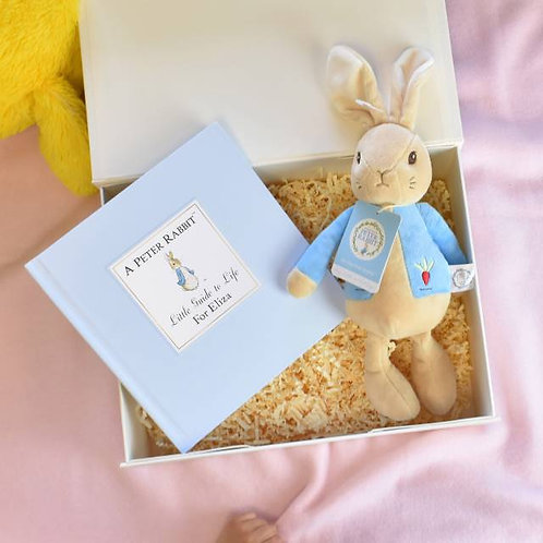 Peter Rabbit Book and Plush Toy Giftset