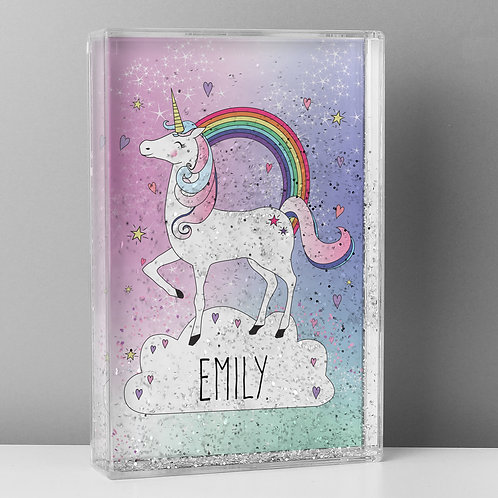 Personalised Unicorn Glitter Shaker (PMC)