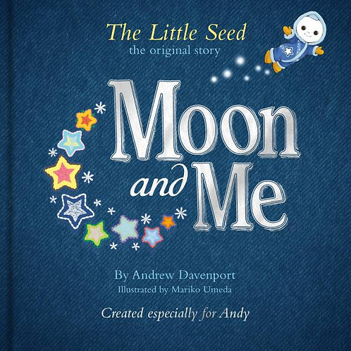 Moon & Me Personalised book