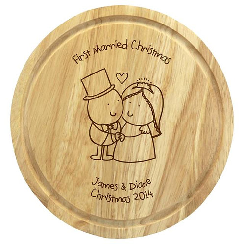 Chilli & Bubbles Married Chopping Board