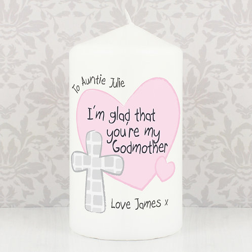 Personalised Godmother Candle (PMC)