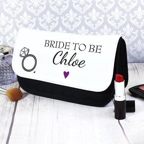 Personalised Wedding Make Up Bag (PMC)