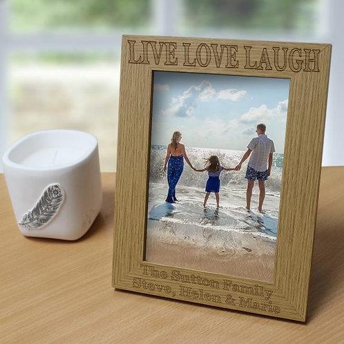 Live Love Laugh 5?x7? Photo Frame