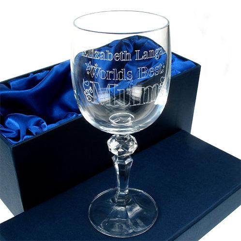 Wine Glass: Worlds Best Mum