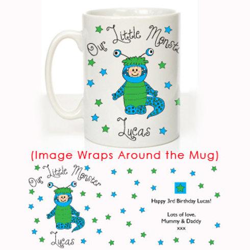 Our Little Monster Message Mug