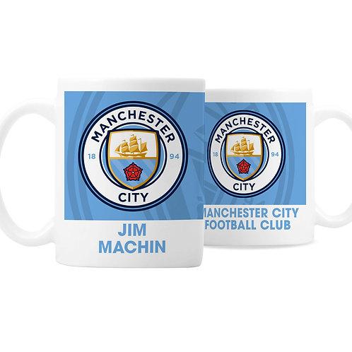 Manchester City FC Bold Crest Mug (PMC)