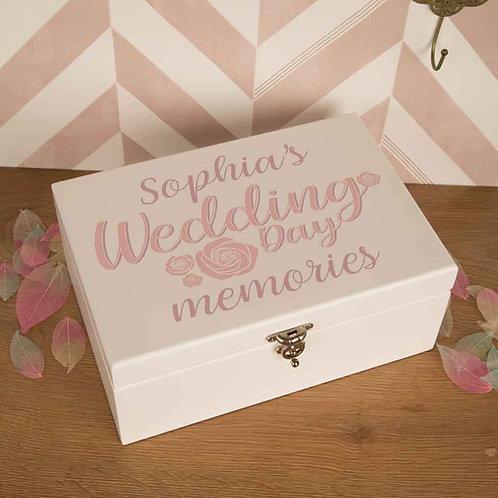 Luxury Bride Wedding Keepsake Box