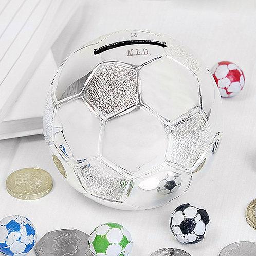 Personalised Football Money Box (PMC)