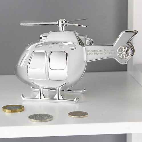 Personalised Helicopter Money Box (PMC)
