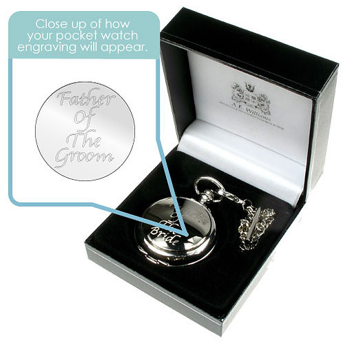 Pocket Watch for Father of the Groom