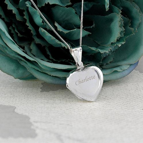 Personalised Heart Locket (PMC)