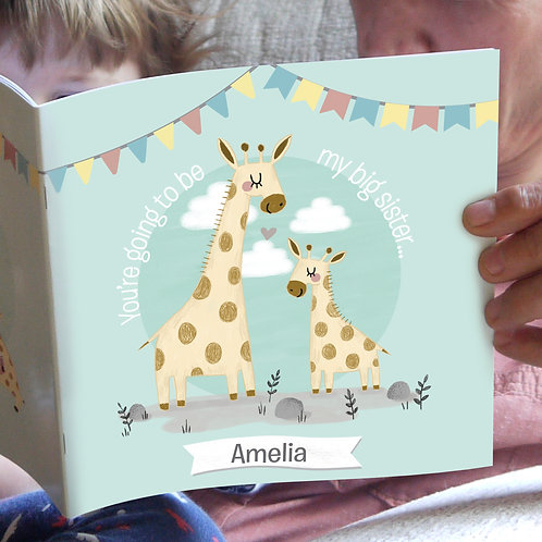 Personalised Big Sister Story Book (PMC)