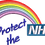 Thumbnail: Keyworker Male Polo (RAINBOW PROTECT THE NHS)