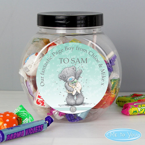 Personalised Me To You Pageboy Wedding Sweets (PMC)