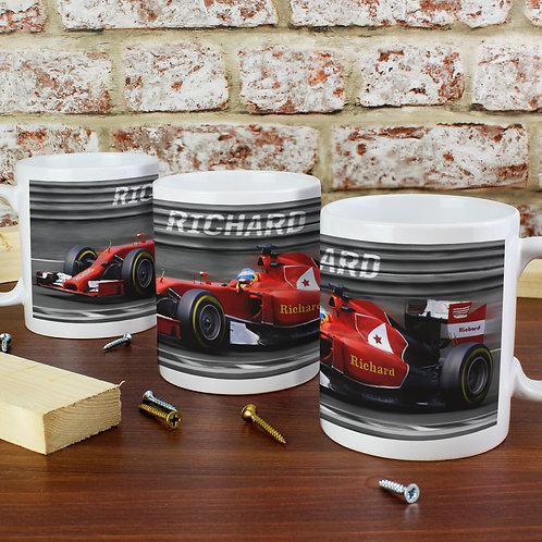Personalised Formula 1 Mug (PMC)
