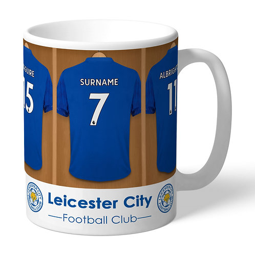 Leicester City Football Club Dressing Room Mug (PMC)