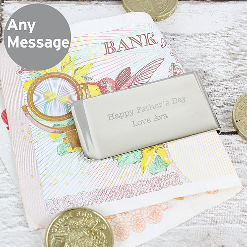 Personalised Any Message Money Clip (PMC)