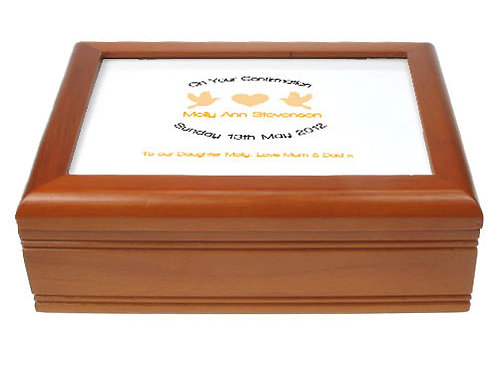 Musical Confirmation Jewellery Box