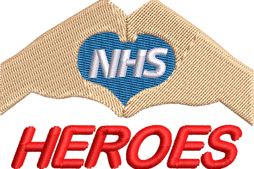 Keyworker Male Polo (HAND HEART NHS HEROES)