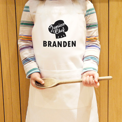 Personalised Junior Chef Children's Apron (PMC)