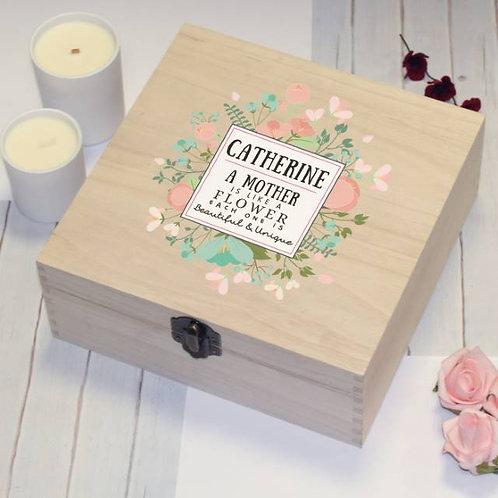 Beautiful & Unique Wooden Storage Box