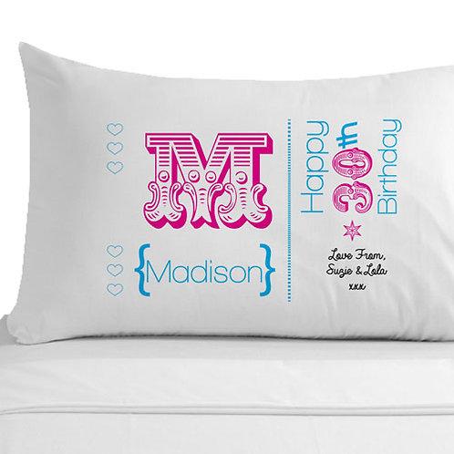 30th Birthday Pillowcase