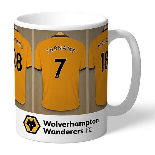 Wolverhampton Football Club Dressing Room Mug (PMC)