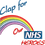 Thumbnail: Keyworker Male Polo (CLAP FOR OUR NHS HEROES RAINBOW)