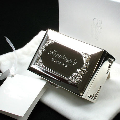70th Birthday Engraved Trinket Box