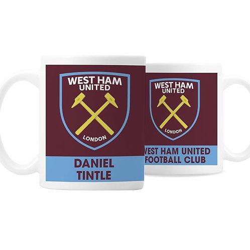West Ham United FC Bold Crest Mug (PMC)