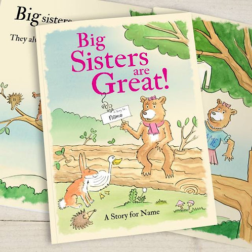 Personalised Big sisters are great (SG)