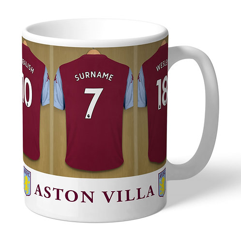 Aston Villa Football Club Dressing Room Mug (PMC)