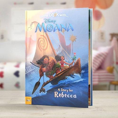 Disney Moana story book