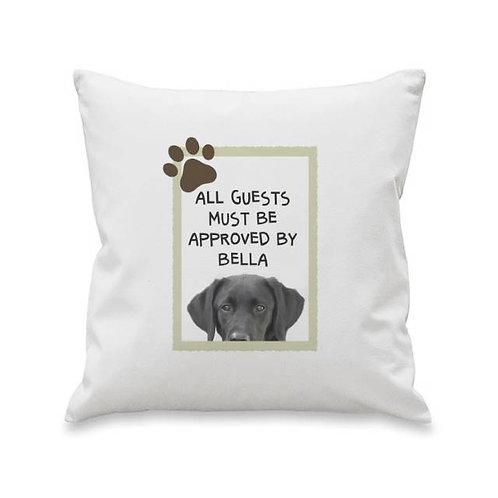 Sociable Dog Cushion