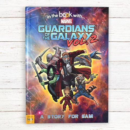 Guardians of the galaxy Personalised Marvel Stroy book