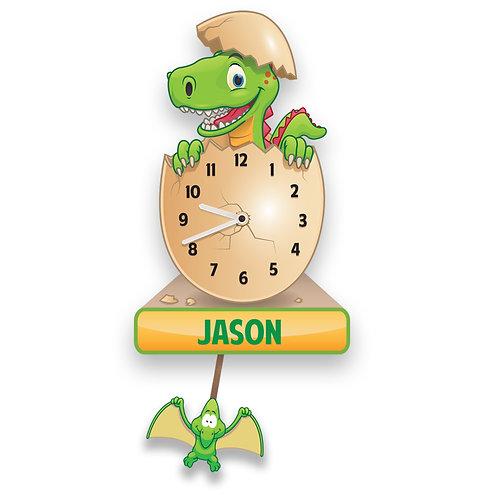 Dinosaur Pendulum Clock (PTG)