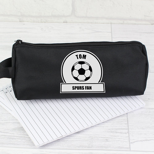 Personalised Football Fan Pencil Case (PMC)