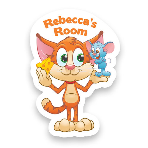 Cat and Mouse Doorplaque (PTG)