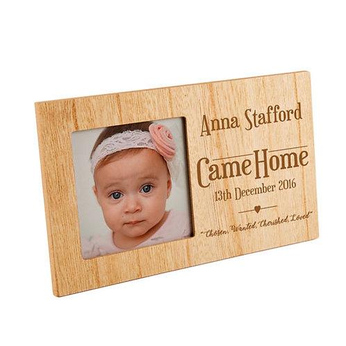 Adoption Photo Frame