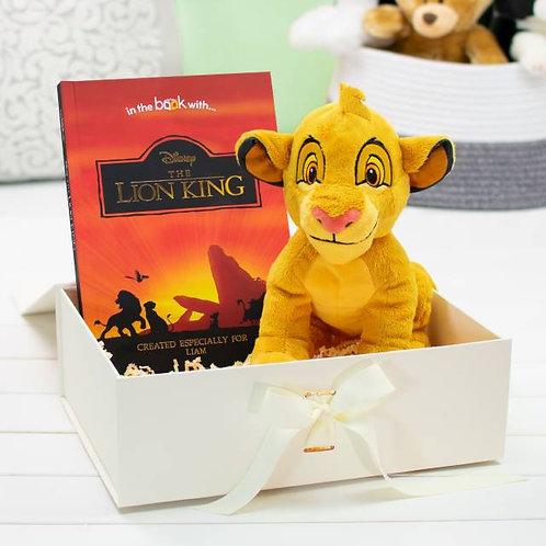 Lion King Premium Book & plus toy