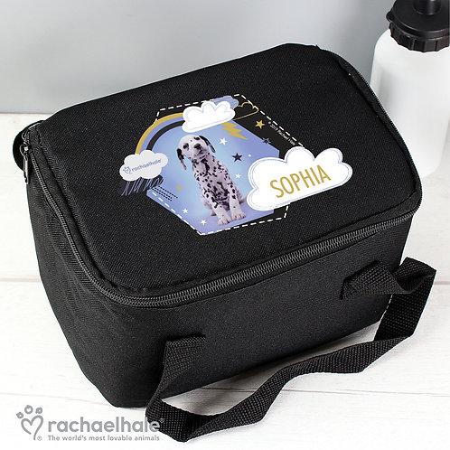 Personalised Rachael Hale Dalmatian Black Lunch Bag (PMC)