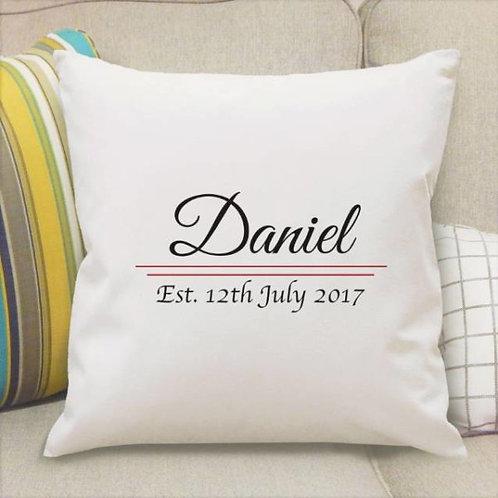 Name Established Cushion