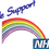 Thumbnail: Keyworker female Polo (WE SUPPORT NHS RAINBOW)