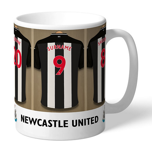 Newcastle United Football Club Dressing Room Mug (PMC)