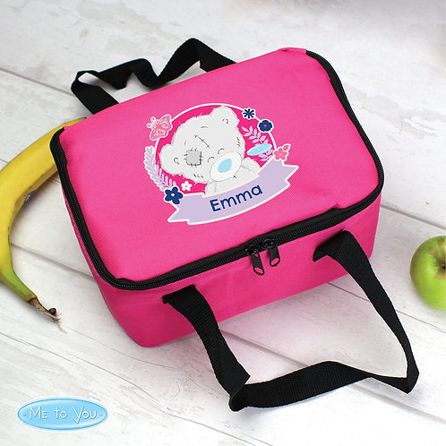 Personalised Me To You Pink Lunch Bag (PMC)