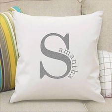 4003098 Name in Initial Cushion Cover Si