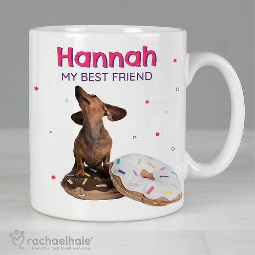 Personalised Rachael Hale 'I Donut Know' Mug (PMC)